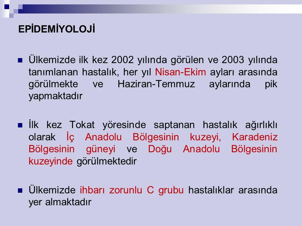 EPİDEMİYOLOJİ