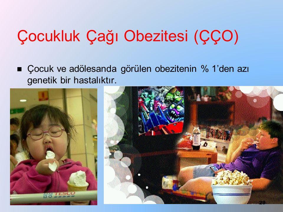 Çocukluk Çağı Obezitesi (ÇÇO)