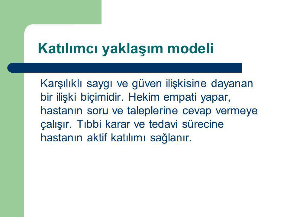 Katılımcı yaklaşım modeli
