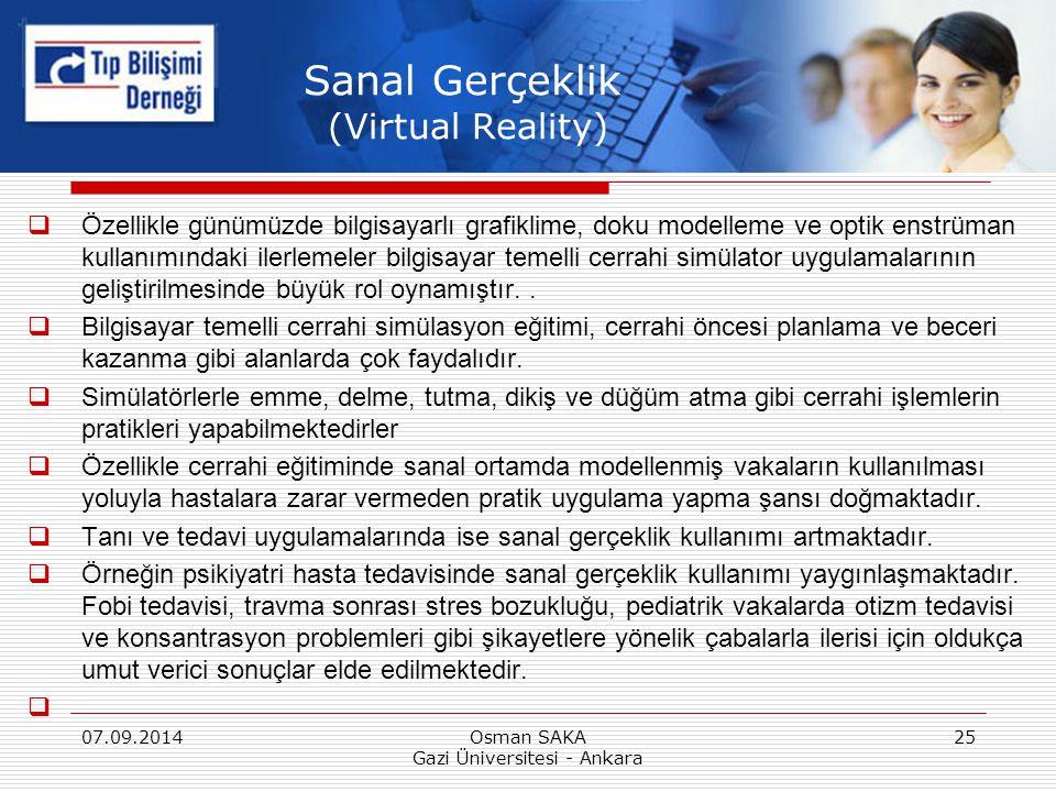 Sanal Gerçeklik (Virtual Reality)