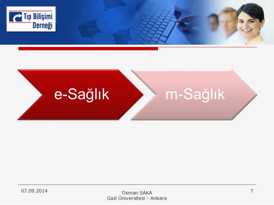 Osman SAKA Gazi Üniversitesi - Ankara