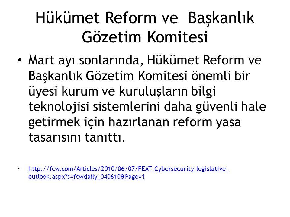Hükümet Reform ve Başkanlık Gözetim Komitesi