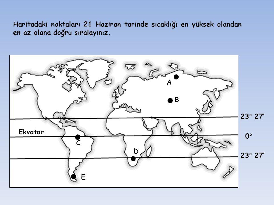 Ekvator B. A. C. D. E.