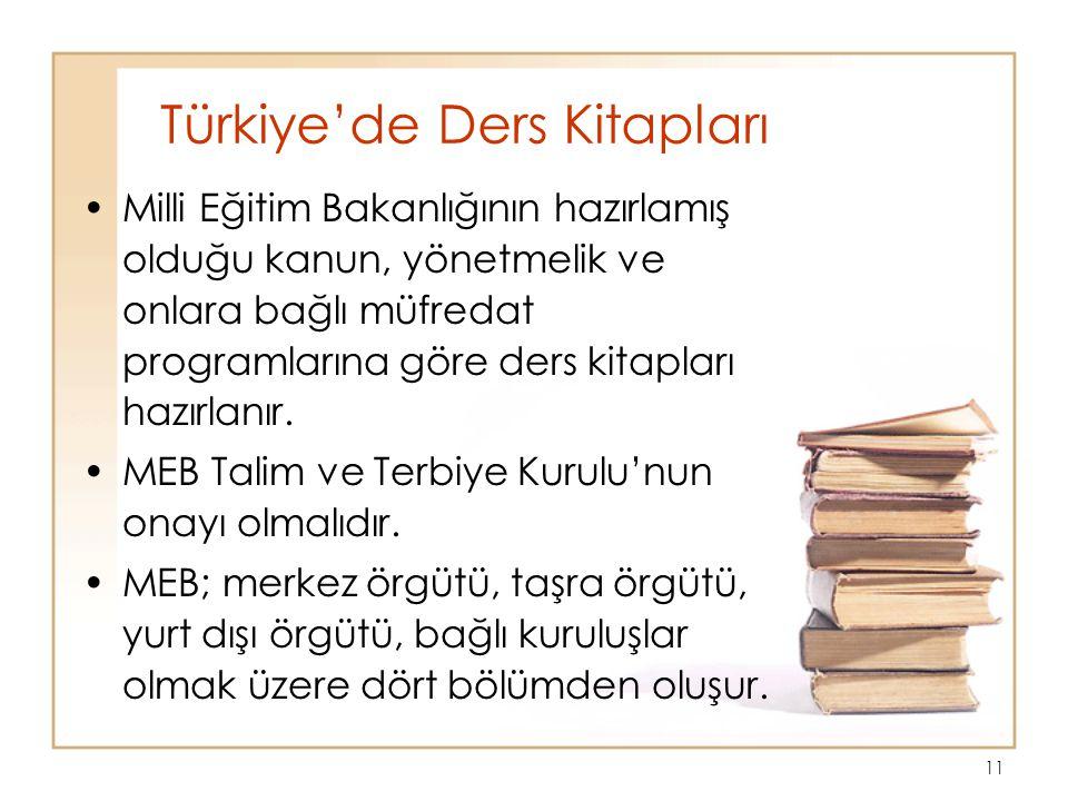 Türkiye'de Ders Kitapları