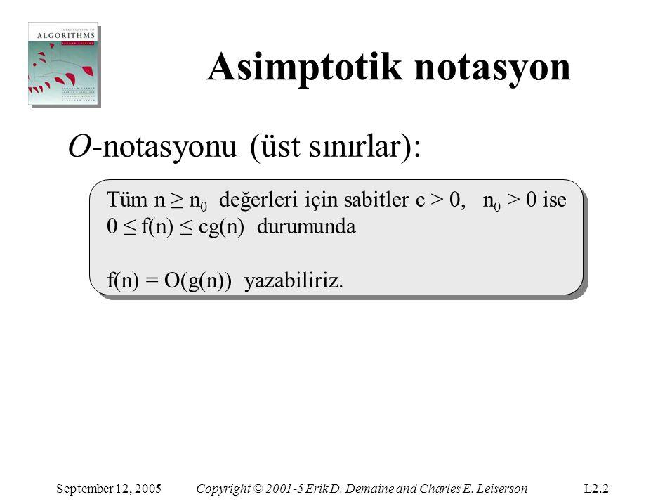 Asimptotik notasyon O-notasyonu (üst sınırlar):
