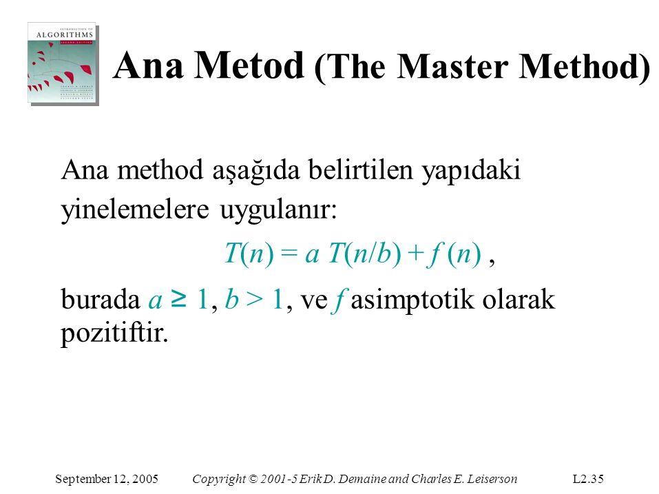 Ana Metod (The Master Method)