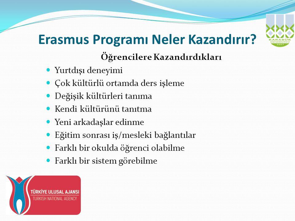 Erasmus Programı Neler Kazandırır