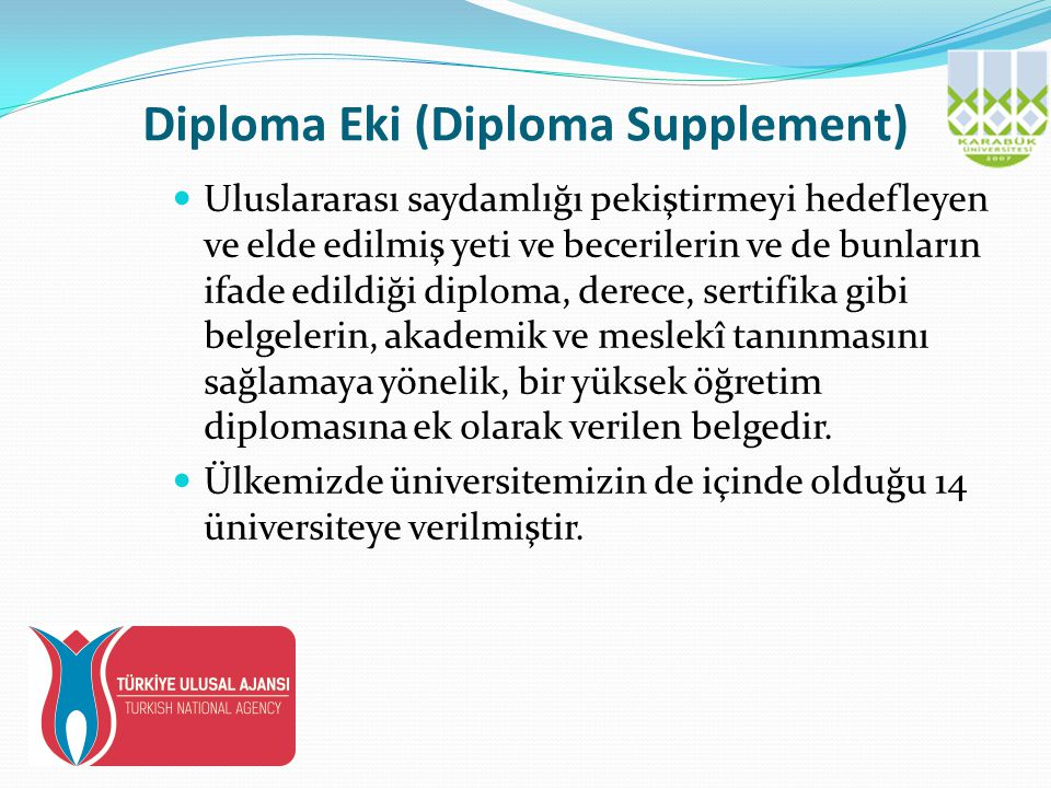 Diploma Eki (Diploma Supplement)