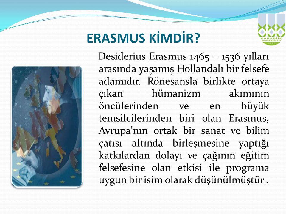 ERASMUS KİMDİR