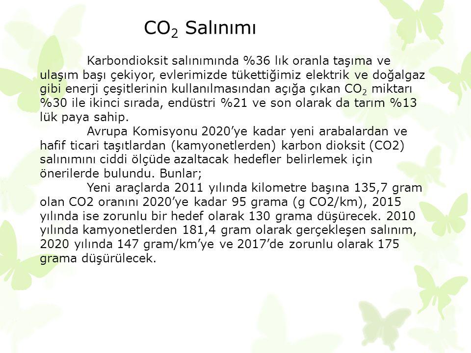 CO2 Salınımı