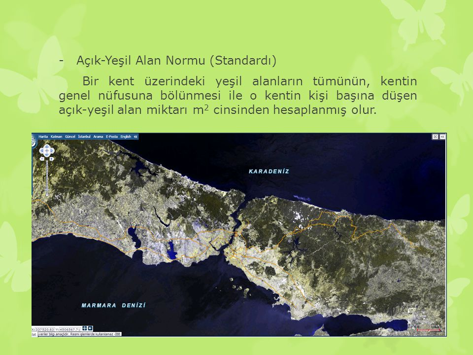 Açık-Yeşil Alan Normu (Standardı)