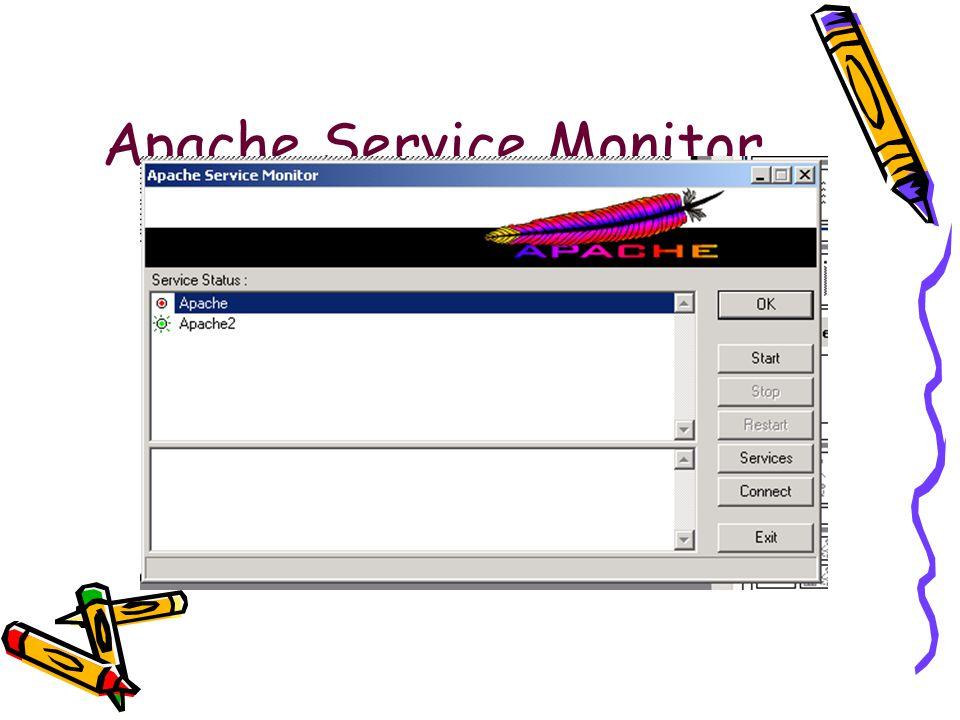 Apache Service Monitor