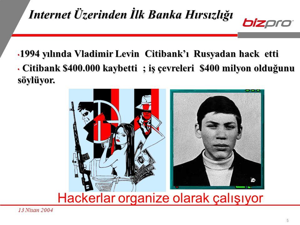 Internet Üzerinden İlk Banka Hırsızlığı