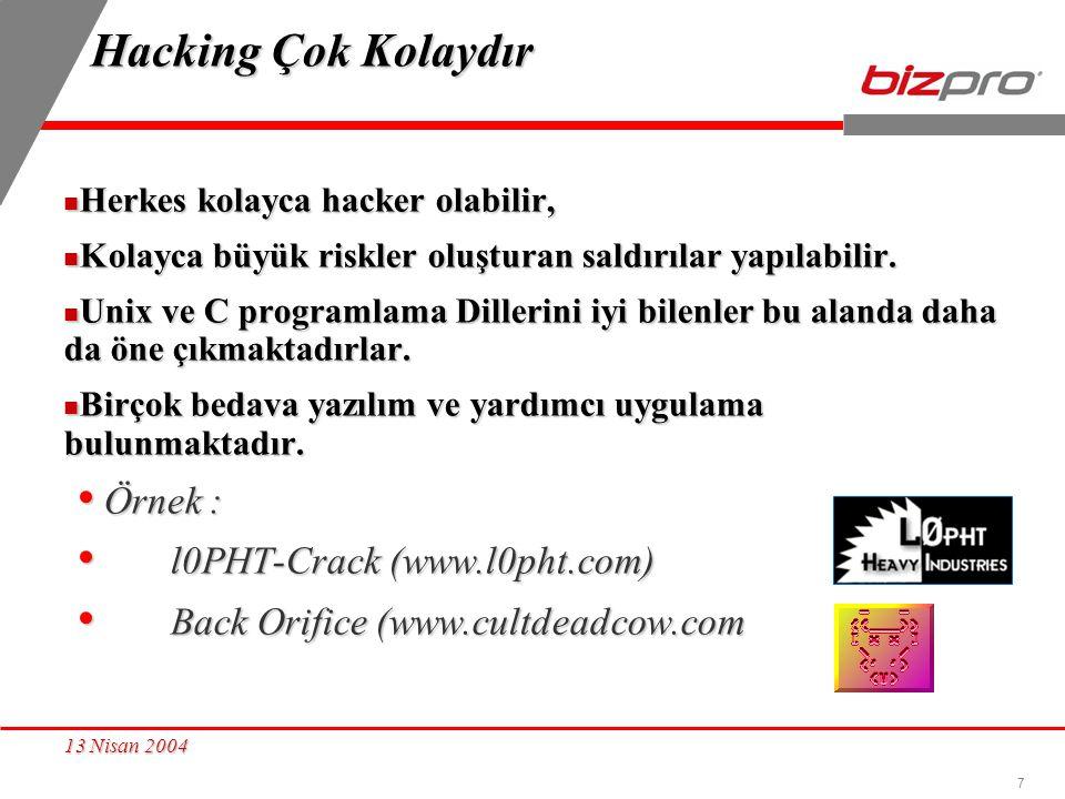 Hacking Çok Kolaydır Örnek : l0PHT-Crack (www.l0pht.com)