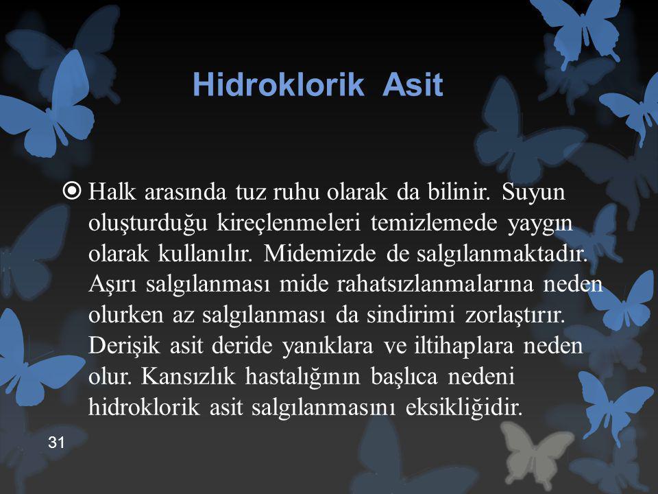 Hidroklorik Asit