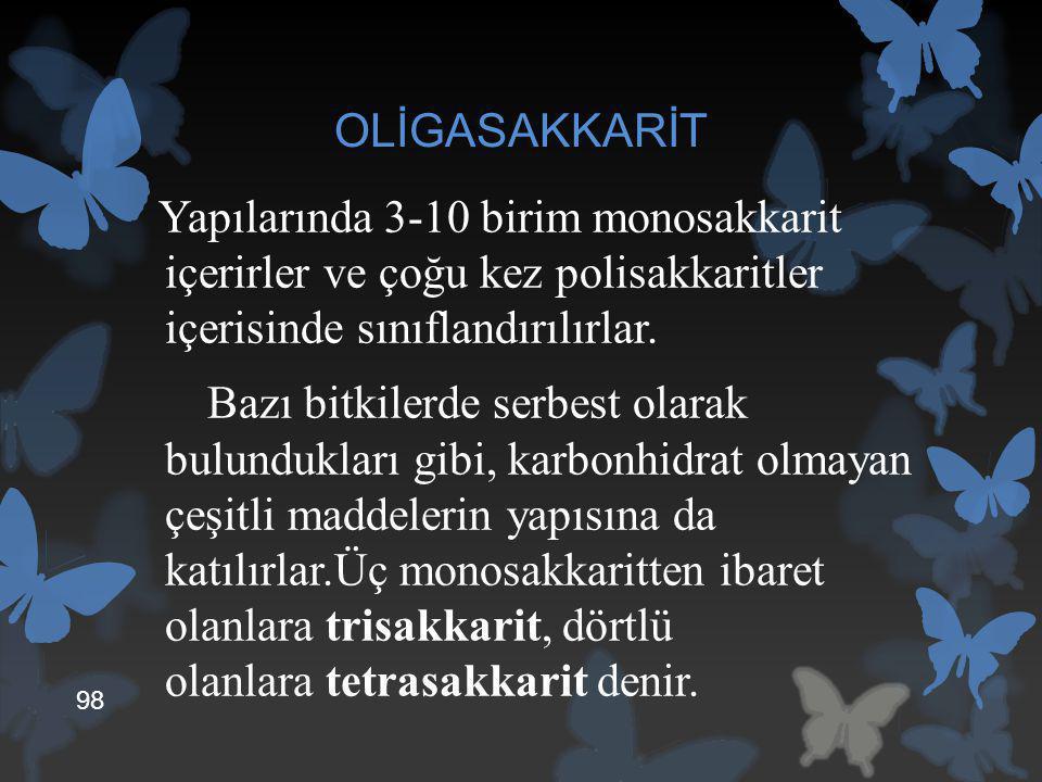 OLİGASAKKARİT