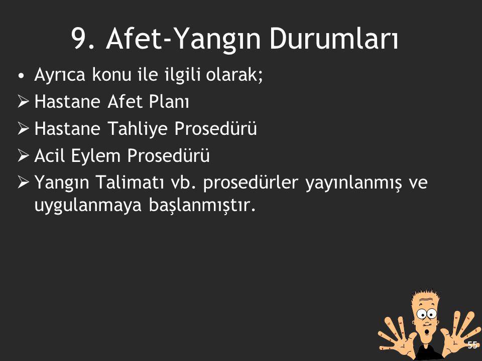 9. Afet-Yangın Durumları