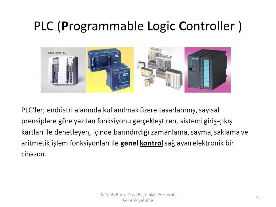 PLC (Programmable Logic Controller )