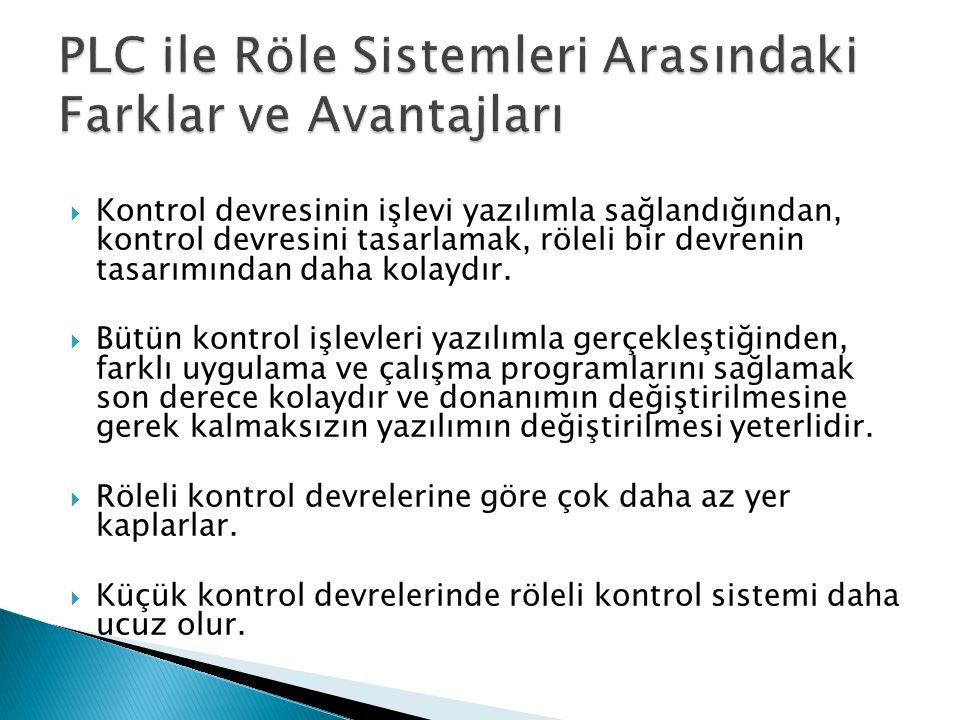 PLC ile Röle Sistemleri Arasındaki Farklar ve Avantajları
