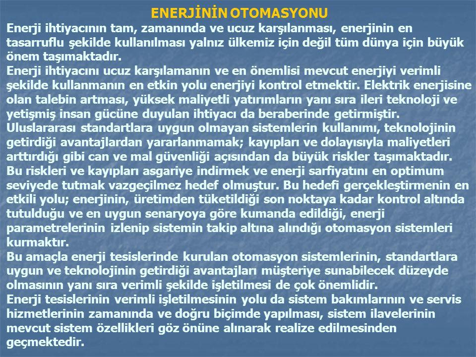 ENERJİNİN OTOMASYONU