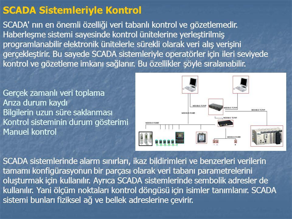 SCADA Sistemleriyle Kontrol