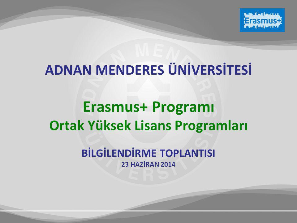 Erasmus+ Programı ADNAN MENDERES ÜNİVERSİTESİ