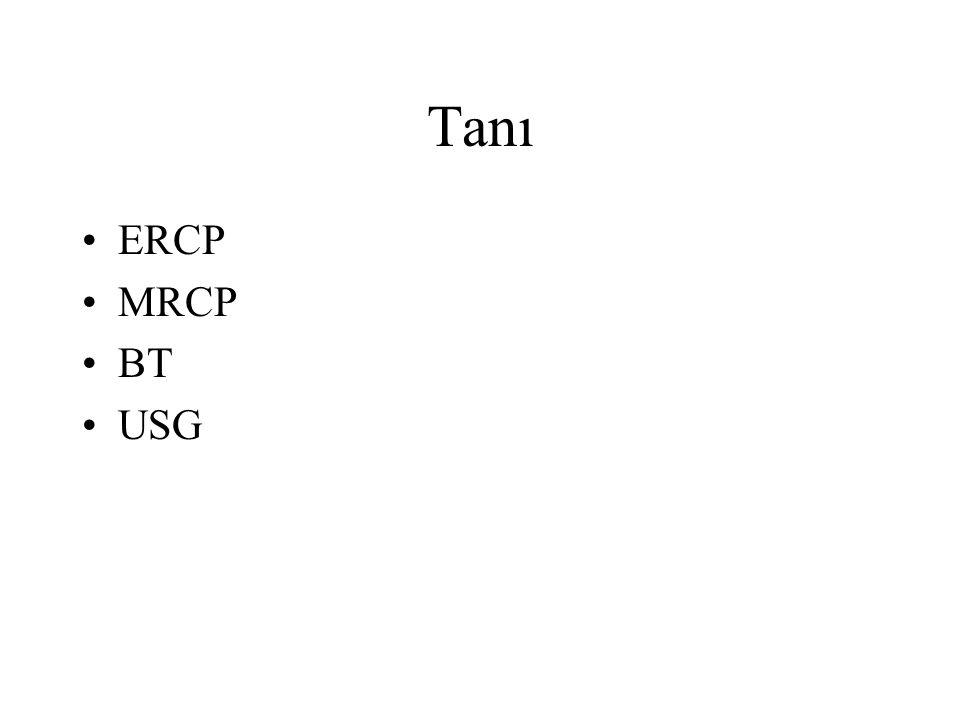 Tanı ERCP MRCP BT USG