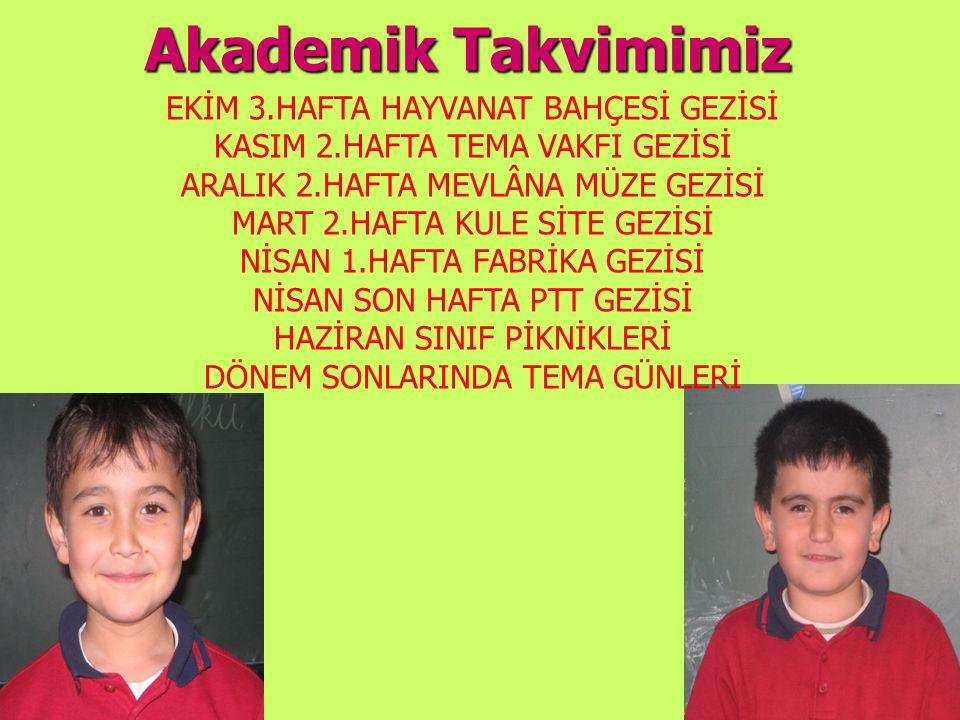 Akademik Takvimimiz EKİM 3.HAFTA HAYVANAT BAHÇESİ GEZİSİ