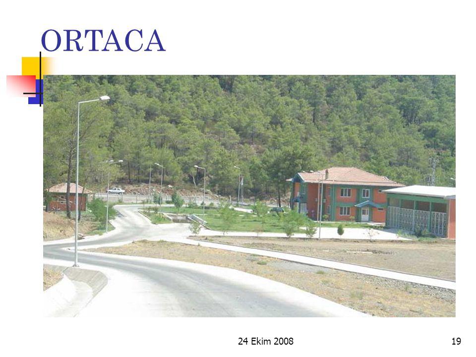 ORTACA 24 Ekim 2008