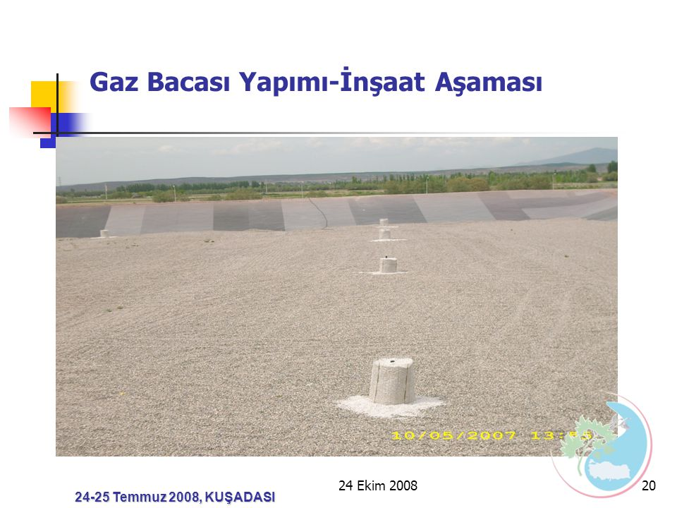 Gaz Bacası Yapımı-İnşaat Aşaması