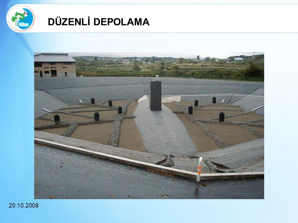 DÜZENLİ DEPOLAMA 20.10.2008