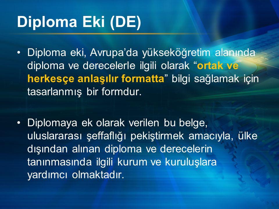 Diploma Eki (DE)