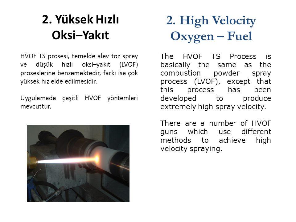2. Yüksek Hızlı Oksi–Yakıt