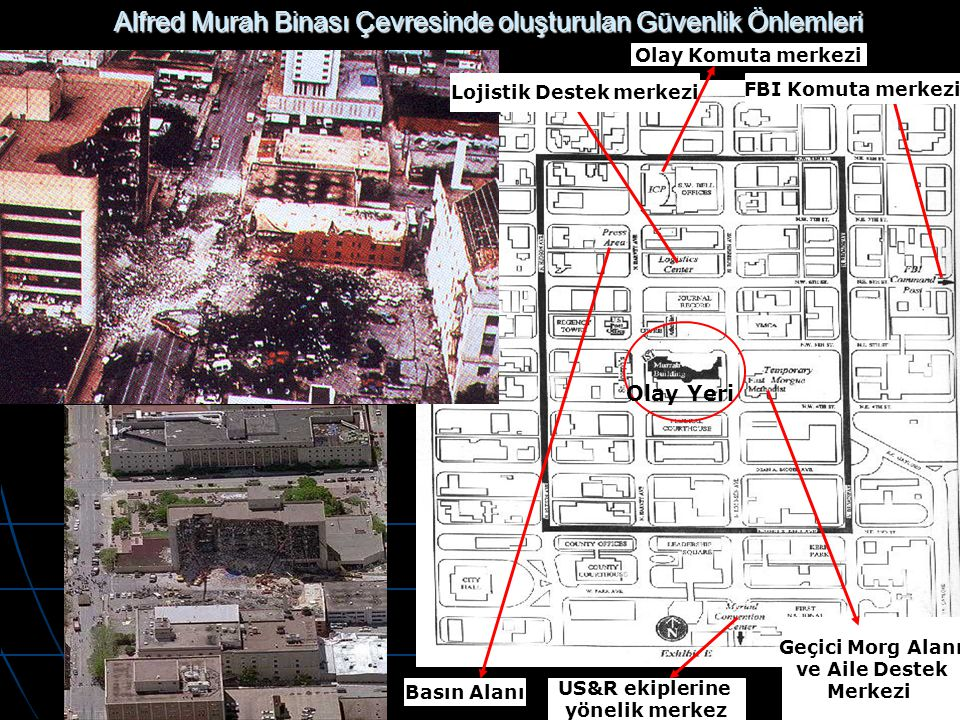Alfred Murah Binası Çevresinde oluşturulan Güvenlik Önlemleri