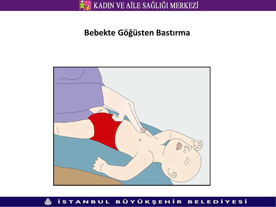 Bebekte Göğüsten Bastırma