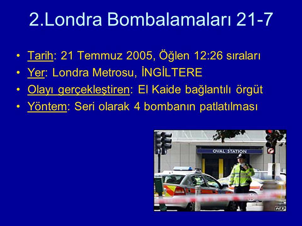 2.Londra Bombalamaları 21-7