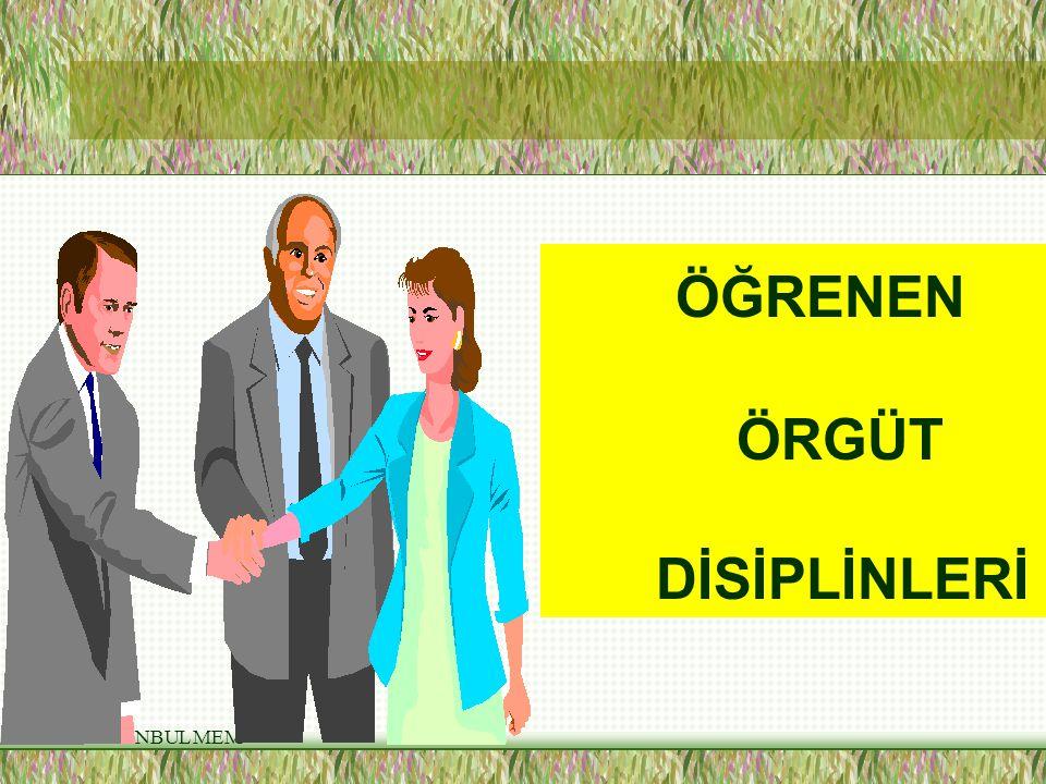 ÖĞRENEN ÖRGÜT DİSİPLİNLERİ İSTANBUL MEM