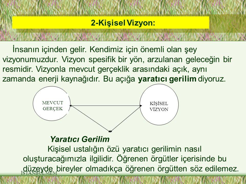 2-Kişisel Vizyon: