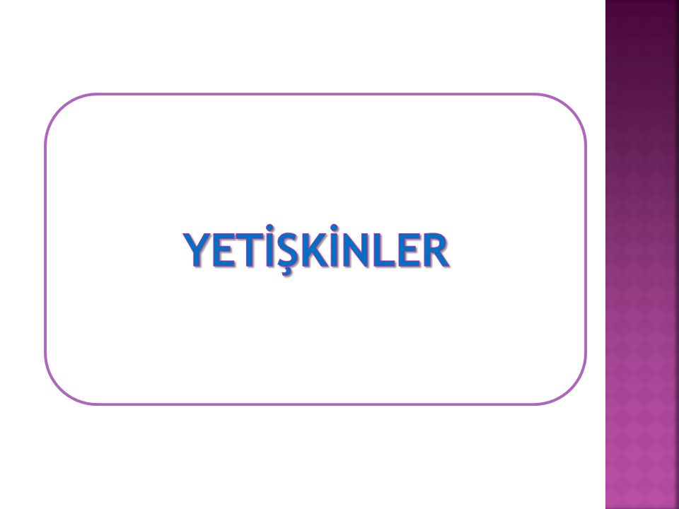 YETİŞKİNLER