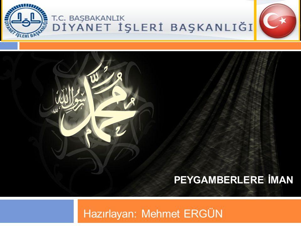 Hazırlayan: Mehmet ERGÜN