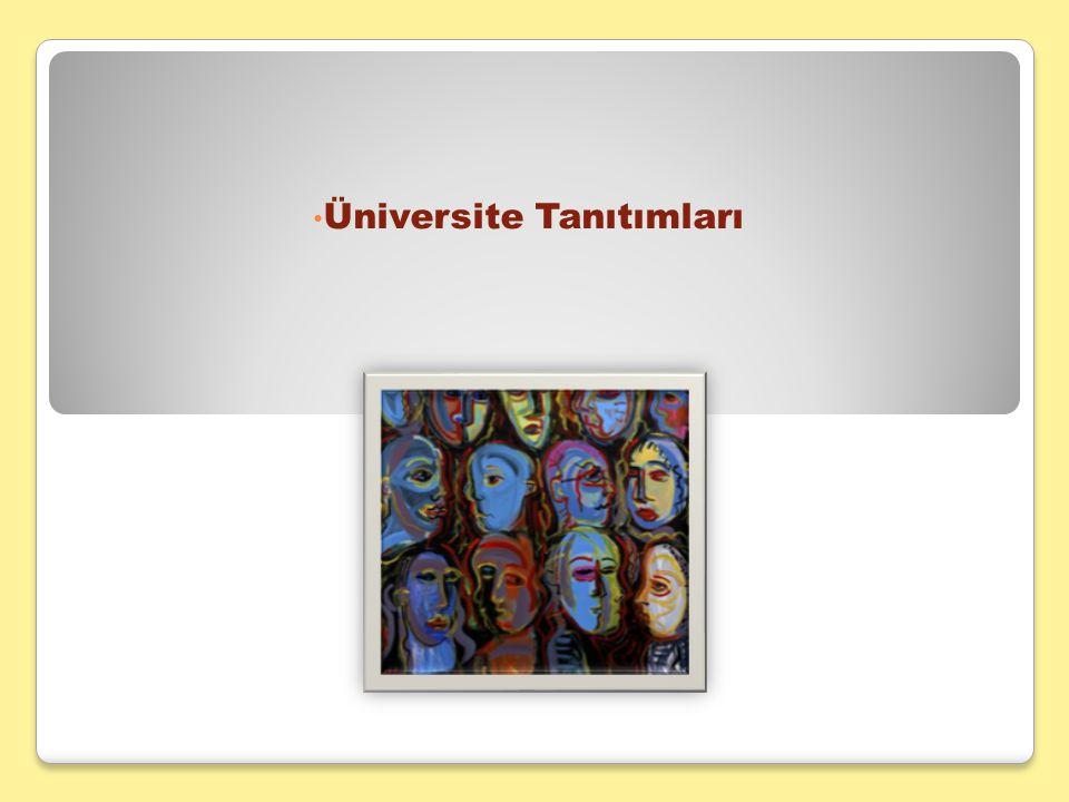 Üniversite Tanıtımları