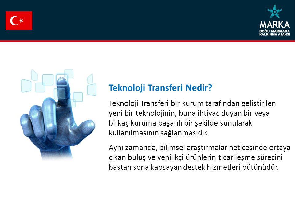 Teknoloji Transferi Nedir