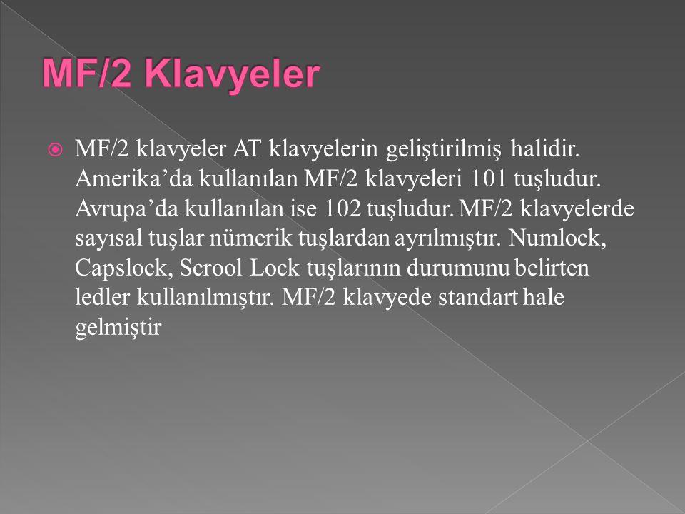 MF/2 Klavyeler