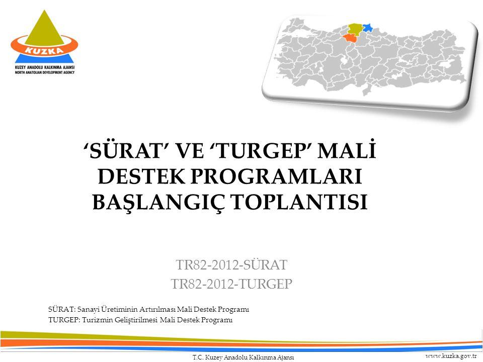 'SÜRAT' VE 'TURGEP' MALİ DESTEK PROGRAMLARI BAŞLANGIÇ TOPLANTISI