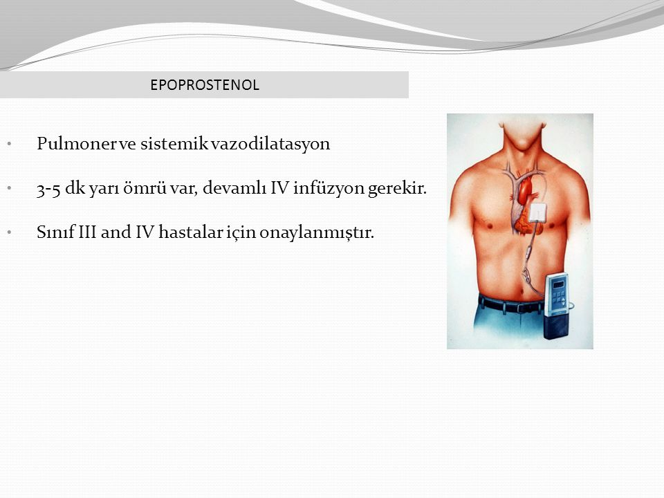 Pulmoner ve sistemik vazodilatasyon