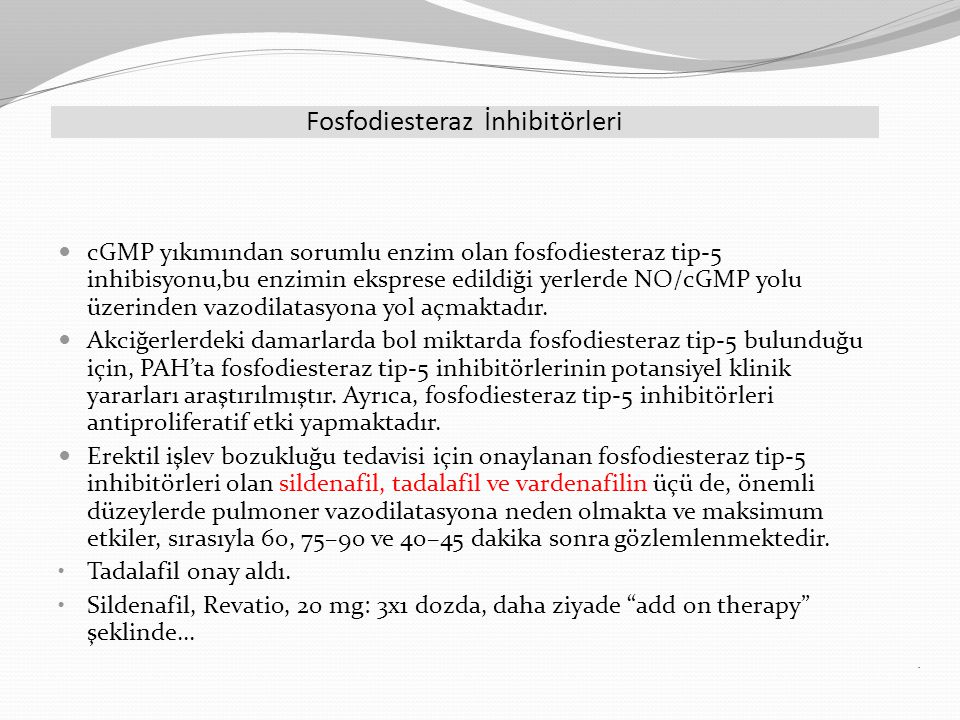 Fosfodiesteraz İnhibitörleri