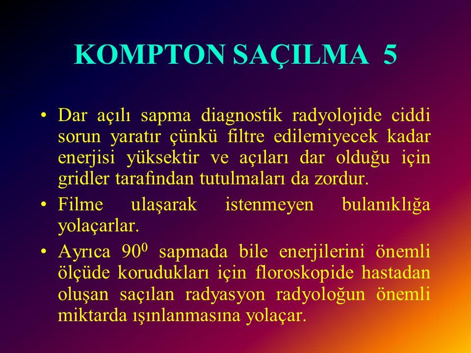 KOMPTON SAÇILMA 5