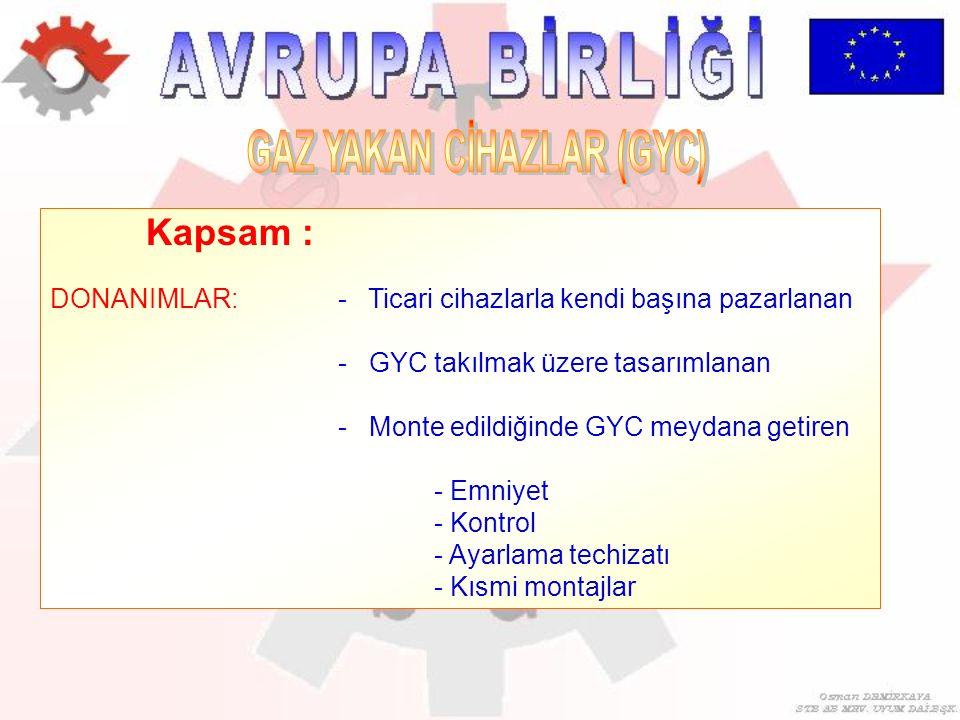 GAZ YAKAN CİHAZLAR (GYC)
