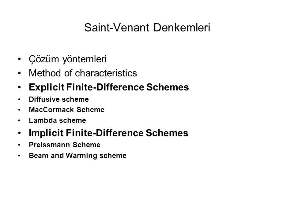 Saint-Venant Denkemleri