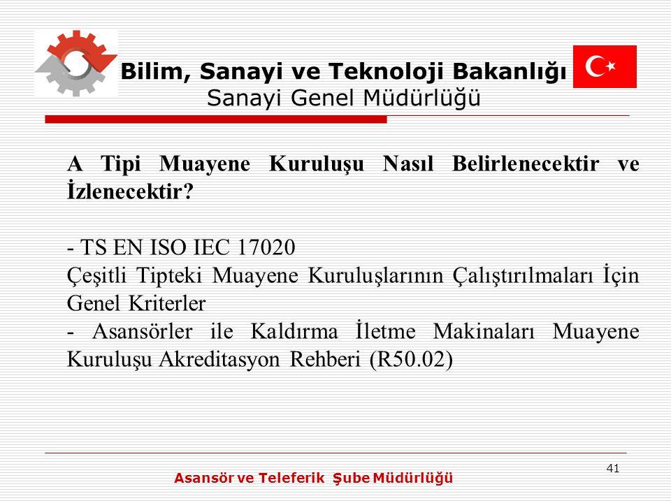 Bilim, Sanayi ve Teknoloji Bakanlığı Sanayi Genel Müdürlüğü